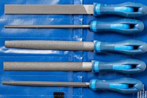 Gut verpackt! PFERD-Werkstattfeilen in schützender Rolltasche